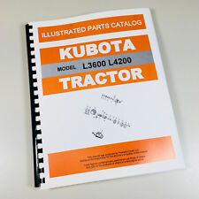 Heavy equipment manuals books for kubota ebay kubota l3600 4200 tractor parts assembly manual catalog exploded views numbers fandeluxe Gallery