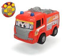 Dickie Toys RC Happy Scania Fire Engine Funkferngesteuertes Feuerwehrauto NEU