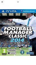 Football manager 2014 PS VITA NEUF Version Française ENVOI SUIVI