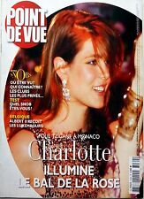 POINT DE VUE 2007: CHARLOTTE CASIRAGHI (BAL DE LA ROSE)_CHANTAL DE FRANCE
