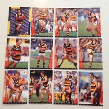 1997 AFL SELECT ADELAIDE CROWS 12 CARD COMMON TEAM SET