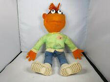 1978 Fisher Price The Muppets Show - Scooter - Soft Plush Stuffed Teddy Toy Doll