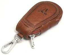 Universal Car Smart Key Chain Leather Holder Cover Case Purse Bag Fob Remote 602