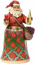 Jim Shore Heartwood Creek Vineyard Santa Figurine, 9-3/4-Inch