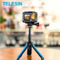 TELESIN Hand Grip&Tripod 2 in 1 Extendable Selfie Stick fit for Gopro DJI CY