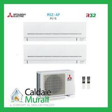 CLIMATIZZATORE MITSUBISHI DUAL SPLIT INVERTER MSZ-AP R-32 9000+18000 MXZ-2F53VF