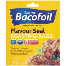 Bacofoil Flavour Seal Roasting Medium 8 Bags Easy Roast Oven Cook Multi Purpose