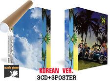 EXO 4th KOREAN ALBUM [ THE WAR ] 3 VER.CD+3POSTER+BOOKLET