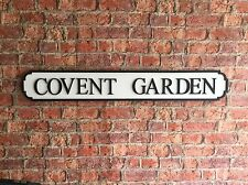 COVENT GARDEN Vintage Wood London Street Road Sign