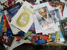More details for huge lot (over 250) theatre programmes,(collection only - no couriers)
