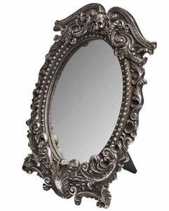 Alchemy England - Masque of the Black Rose Mirror, Skull, Gothic Elegant, Pagan