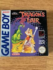 Boxed Complete Dragons lair Gameboy Very Rare Excellent Condition