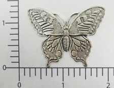 Jewelry Finding Silver Ox 35074 Victorian Large Butterfly
