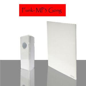 Kabellose Funkklingel 100m Reichweite MP3 wireless Gong Melodien CD - Qualität