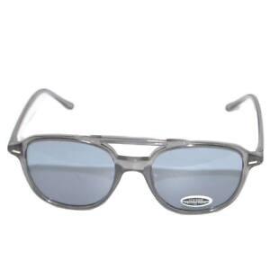Occhiali da sole sunglasses uomo nero modello aviatore a goccia a specchio con l