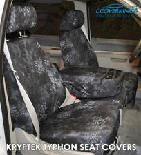 Coverking Kryptek Typhon Camo Cordura Ballistic Seat Covers for Jeep Gladiator