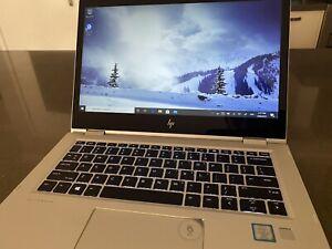 """HP EliteBook x360 1030 G2 13.3"""" UHD 4K LED Touch Screen i7-7600U"""