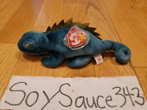 TY THE BEANIE BABIES BABY COLLECTION IGGY IGUANA 1997 RETIRED