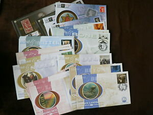 Benham Silk First Day Covers, 2000 Millennium Collection, Sold Individually,