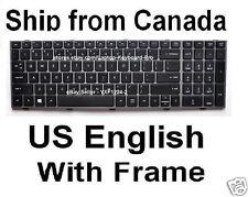 HP ProBook 4540s 4545s Keyboard  - US English - Wiith Frame