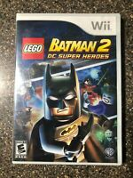 LEGO Batman 2: DC Super Heroes (Nintendo Wii) New Factory Sealed - Free Ship