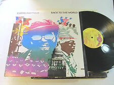 Curtis Mayfield Back To The World LP 1973 Curtom CRS-8015 Funk soul gatefold OG!