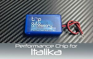 Performance Speed Chip Racing Torque Horsepower Power ECU Module for Italika