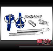 RACKING HOOD PINS LOCK KIT JDM BLUE CSX EL MDX RDX RL A3 A5 S5 S6 Z3 Z4 DTS ION