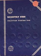 ROOSEVELT DIMES  #9029 (1946-1978) VINTAGE WHITMAN COIN FOLDER - USED  # 104