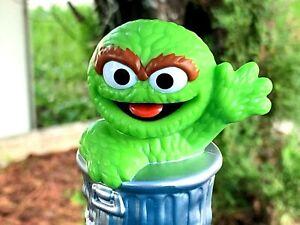 "NEW Hasbro Sesame Street Workshop Oscar The Grouch Monster 3"" Toy Figure"