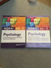 AQA (A) A2 & B (AS) Psychology: Unit 2 And 3: Topics in Psychology