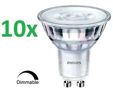 10 x PHILIPS LED Spot GU10 Strahler 5W=50W Warm Leuchtmittel Classic DIMMBAR 36D