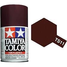 Tamiya TS-11  MAROON Spray Paint Can  3.35 oz. (100ml) 85011