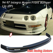 Mu-gen Style Front Lip (PP) Fits 94-97 Acura Integra 4dr
