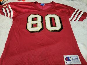 Jerry Rice Replica Throwback 49ers Champion Jersey Youth XL 18-20