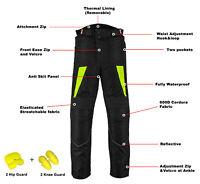 Waterproof Motorbike Motorcycle Trouser Codura Textile Pants Clothing CE Armored