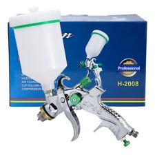 1.4/1.7/2.0mm Nozzle Hvlp Spray Gun Car Paint Tool Pistol Gravity Feed Sprayer