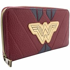 Official DC Wonder Woman Red Warrior Suit Coin & Card Clutch Purse