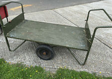 More details for two wheel heavy duty garden barrow cart ex mod