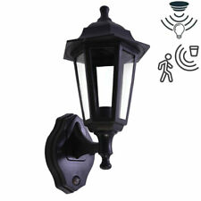 E27 LED Full Coach Traditional Lantern Dusk Dawn PIR Motion Sensor Outdoor Light