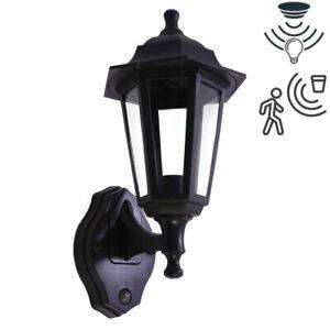 E27 LED Full Coach Traditional Lantern Dusk Dawn PIR Motion Sensor Outdoor Light