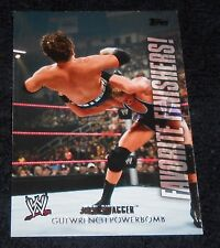 WWE 2010 - FAVORITE FINISHERS CARD #FF2 JACK SWAGGER