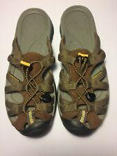 Keen Women's Whisper Slide Waterproof Sandals Brown Size 6.5