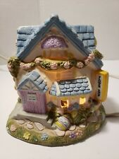 Flower Shop Light House Pastel Easter Christmas city scape night light Cottage