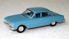 1960 XK FORD Sedan VINTAGE Pacific Blue Diecast HO 1/87 scale Road Ragers Cooee