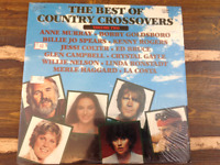 The Best of Country Crossovers Volume Two Willie Nelson Vintage Vinyl Record LP