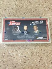 2009 Topps Heritage American Heroes Hobby Box Space Mantle President Auto SPs