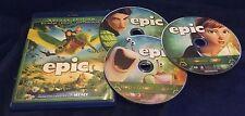 Epic (Blu-ray + 3D Blu-Ray + DVD, 2013, 3-Disc Set) Colin Farrell