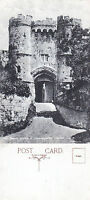 1920's THE GREAT GATEWAY CARISBROOKE CASTLE ISLE OF WIGHT UNUSED POSTCARD