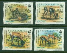 Somalia #629-32 (1992 WWF set overprinted for RIO Conference) VFMNH CV $24.00